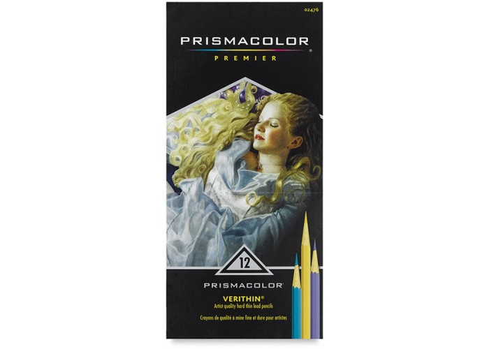 Colored pencils Prismacolor Verithin 12 colors