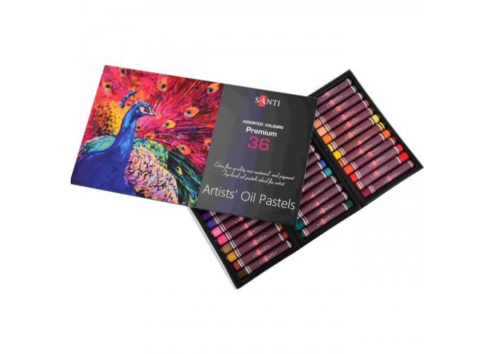 Oil pastel Santi - 36 colors