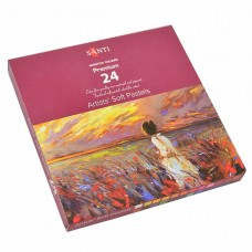 Hard pastel artistic Santi 24 colors