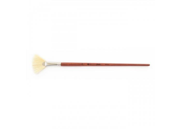 "Bristle brush ""Santi Studio"" fan №16"