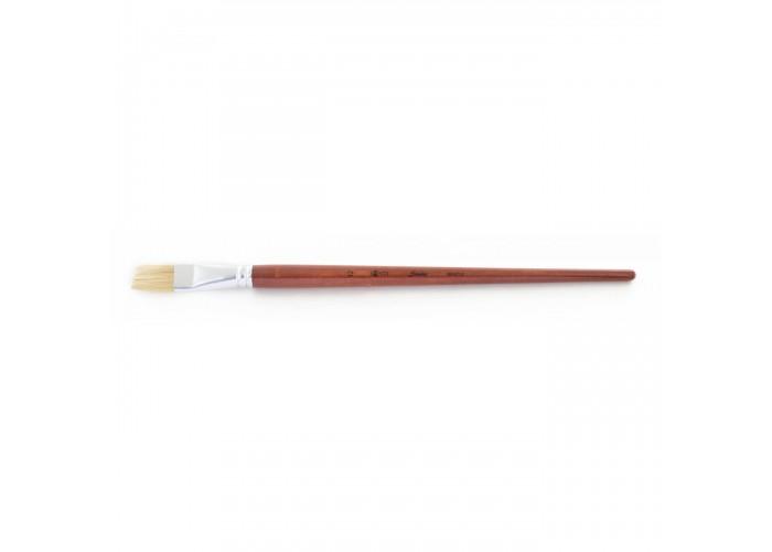 "Bristle brush ""Santi Studio"" flat №12"