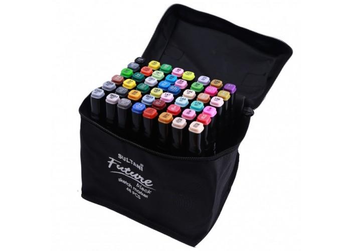 Sketch markers set Sultani 48 colors ST8026-48