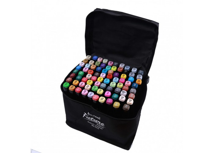 Sketch markers set Sultani 80 colors ST8026-80