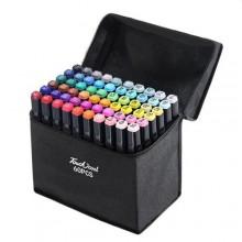 Sketch markers set Sultani 60 colors ST8026-60