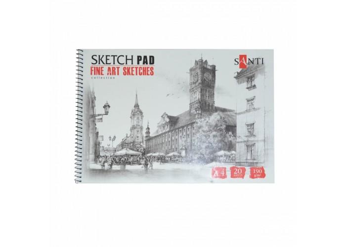 Album for graphics Santi А4 20 pages