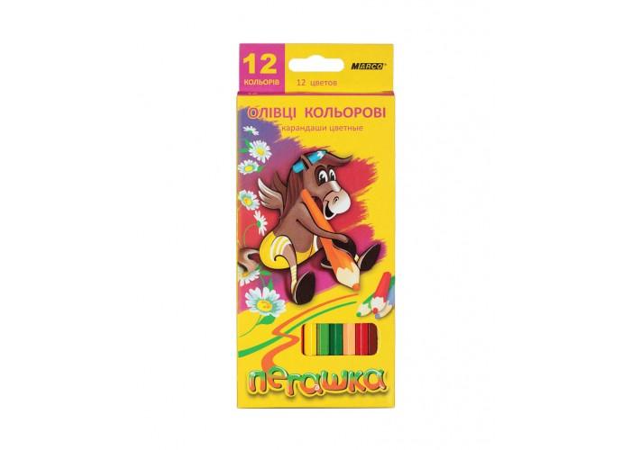 Colored pencils Marco Pegashka 12 colors (1010-12CB)