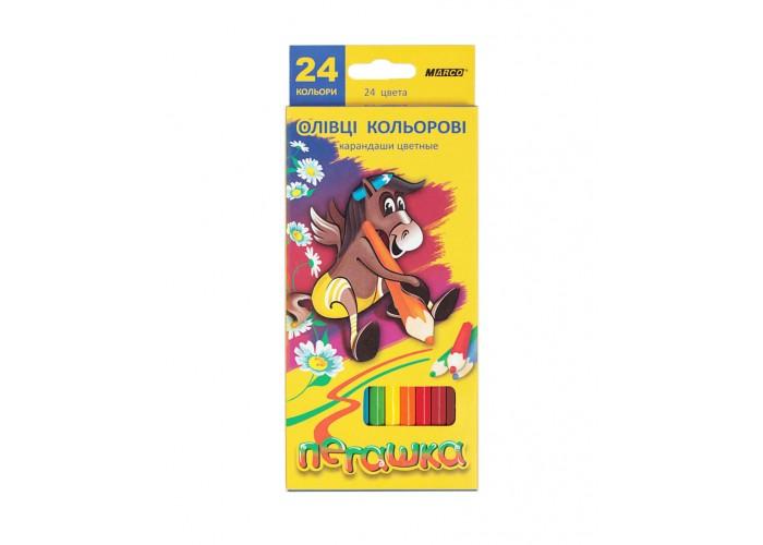 Colored pencils Marco Pegashka 24 colors (1010-24CB)