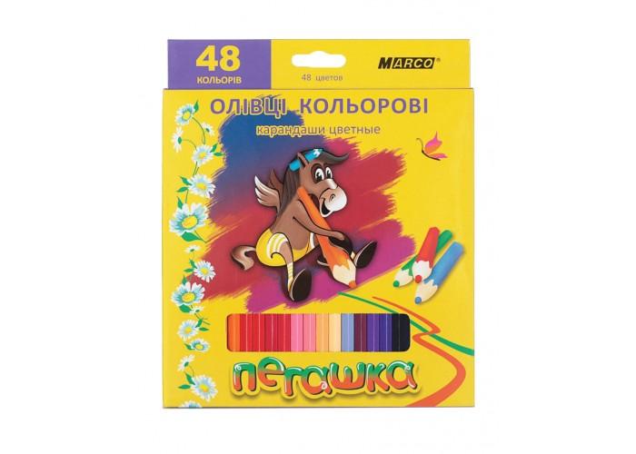 Colored pencils Marco Pegashka 48 colors (1010-48CB)