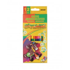 Colored pencils Marco Pegashka 24 colors bilateral (1011-12CB)