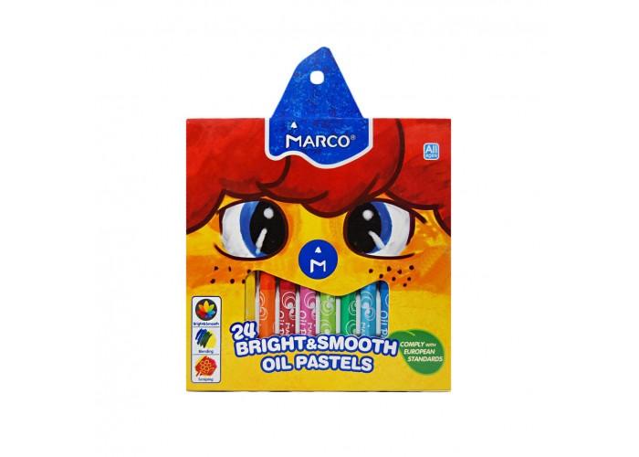 Oil pastel Marco 1100 - 24 colors (1100OP-24CB)