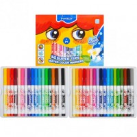 Felt tip markers Marco Super Washable 36 colors (1630-36CB)