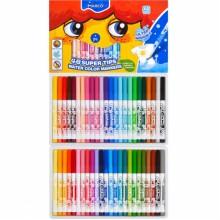Felt tip markers Marco Super Washable 48 colors (1630-48CB)