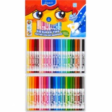 Felt tip markers Marco Super Washable 48 colors (1630-48CB)