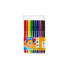 Felt tip markers Marco Super Washable 10 colors (1690-10)