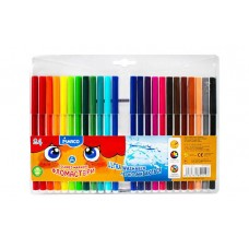 Felt tip markers Marco Super Washable 24 colors (1690-24)