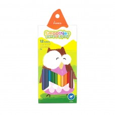 Colored pencils triangular Marco Smoothies 12 colors (2150-12CB)