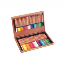 Colored pencils Marco Renoir Fine Art 72 colors in wooden case (3120-72WB)