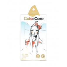Colored pencils Marco Color Core 12 colors (3130-12CB)