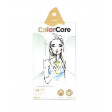 Colored pencils Marco Color Core 24 colors (3130-24CB)