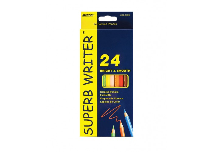 Colored pencils Marco Superb Writer 24 colors (4100-24CB)