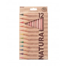 Colored pencils Marco Natural Jumbo 12 colors (6400-12)