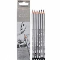 Graphite pencils HB-8B Marco Raffine 12 pieces (7000-12CB)