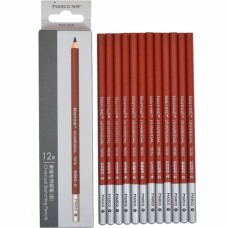 Charcoal pencils Marco 12 pieces black (7015-12CB)