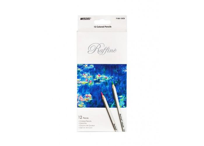 Colored pencils Marco Raffine 12 colors (7100-12CB)