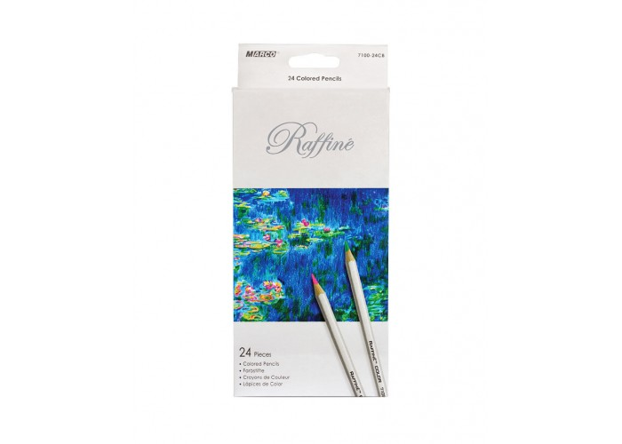 Colored pencils Marco Raffine 24 colors (7100-24CB)