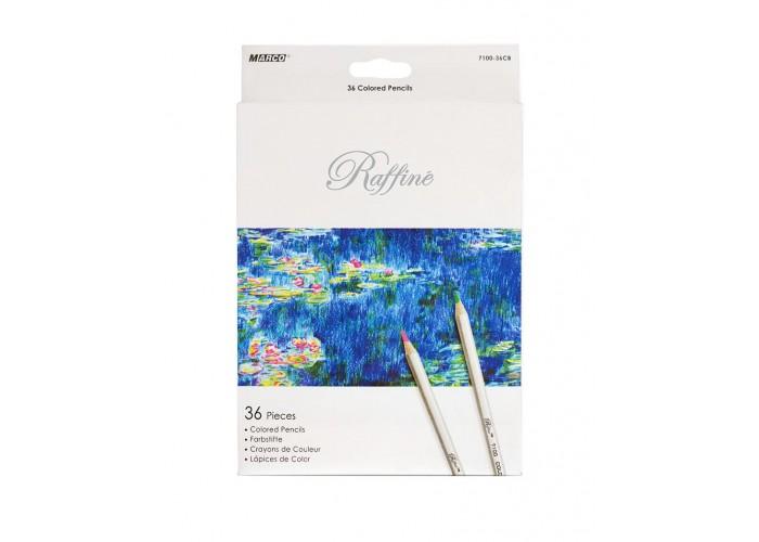 Colored pencils Marco Raffine 36 colors (7100-36CB)