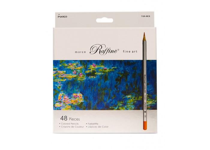 Colored pencils Marco Raffine 48 colors (7100-48CB)