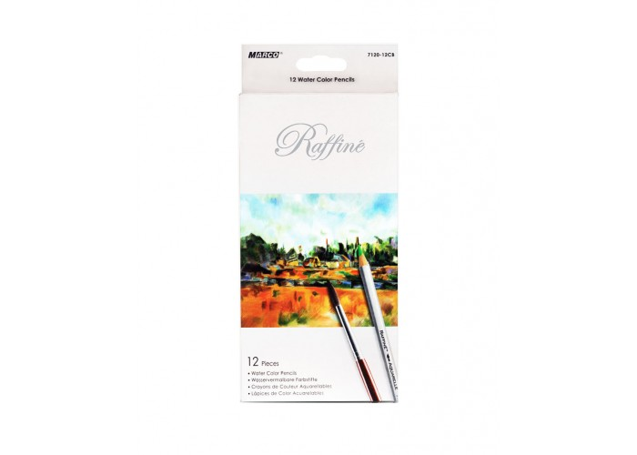 Watercolor pencils Marco Raffine 12 colors (7120-12CB)