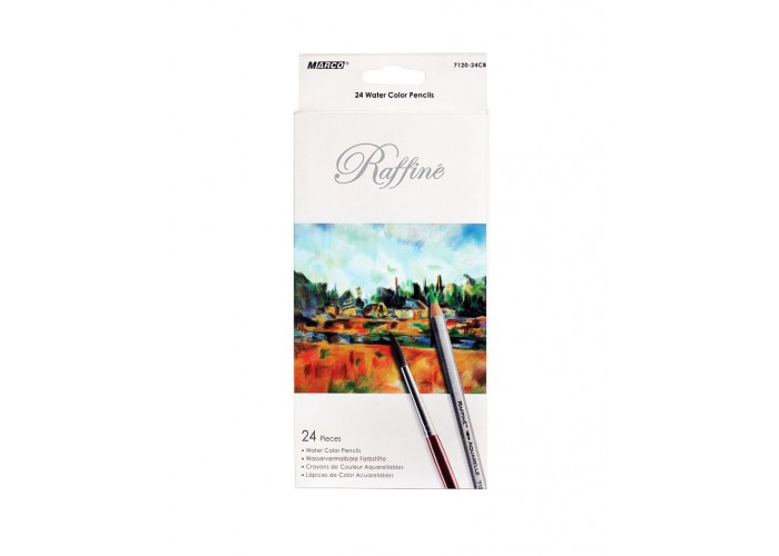 Watercolor pencils Marco Raffine 24 colors (7120-24CB)