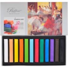 Dry pastel Marco Raffine 12 colors (7300-12CB)