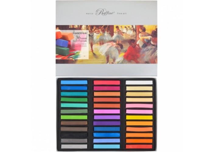 Hard pastel Marco Raffine 36 colors (7300-36CB)