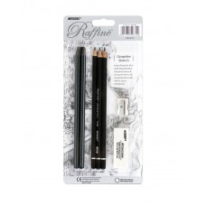 Graphics set Graphite Sketch Marco Raffine (7990-BL)