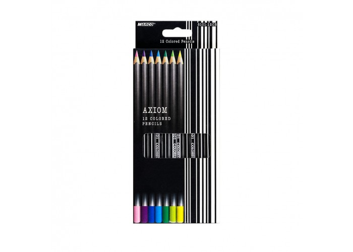 Colored pеncils Marco Axiom 12 colors (8101-12CB)
