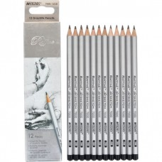 Graphite pencils 8B Marco Raffine 12 pieces (7000-12CB)