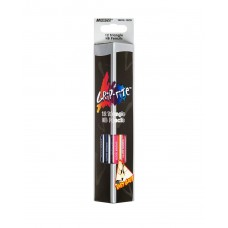 Graphite pencils HB with eraser Marco Grip-Rite 12 pieces (9001E-12CB)