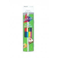 Colored pencils triangular bilateral Marco Grip-Rite 24 colors (9101-12)