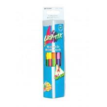 Watercolor pencils bilateral Marco Grip-Rite 24 colors (9121-12CB)