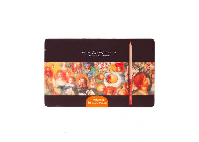 Colored pencils Marco Renoir Fine Art 36 colors