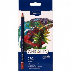 Colored pencils Marco Chroma 24 colors (8010-24CB)