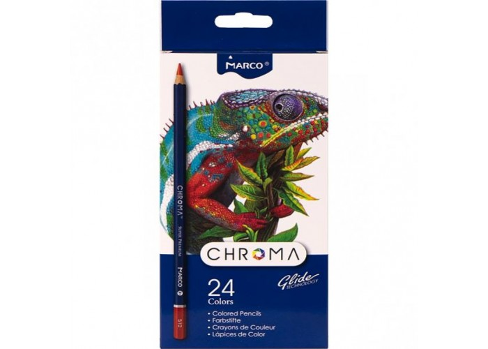 Colored pencils Marco Chroma 24 colors (8010-24CB)