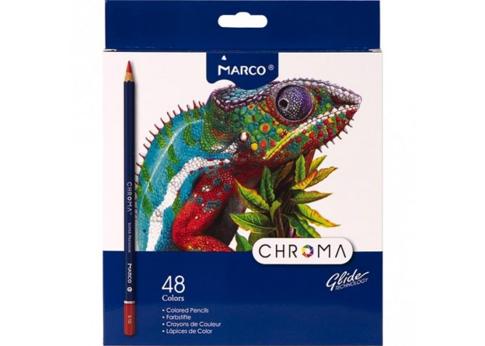 Colored pencils Marco Chroma 48 colors (8010-48CB)
