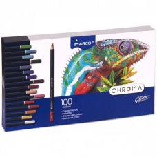 Colored pencils Marco Chroma 100 colors (8010-100CB)