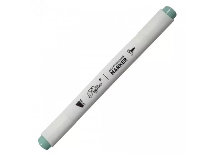 Sketch marker bilateral Marco Raffine 7800-6CB Dusty jade green (B922)