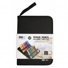 Пенал для карандашей Neoline 48 шт. без наполнения черный