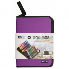 Pencil case for pencils Neoline 48 шт. without filling purple