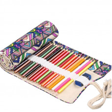 """Pencil box roll Neoline for pencils 48 pc. without filling """"Ornament"""""""